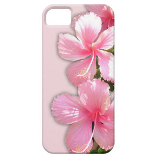Brilliant Pink Hawaiian Hibiscus Flowers iPhone 5 Cases