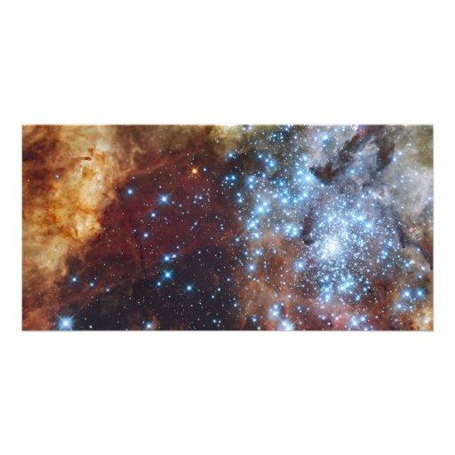 Brilliant Rainbow Nebula 30 Doradus Photo Greeting Card