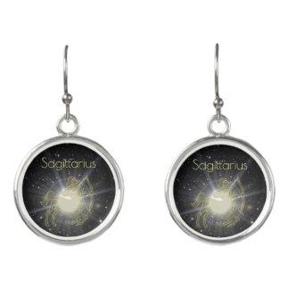 Brilliant Sagittarius Earrings
