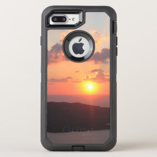 Brilliant Santorini Sunset OtterBox Defender iPhone 7 Plus Case