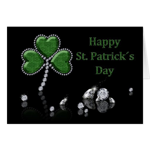 Brilliant St. Patrick´s Day - Greeting Card