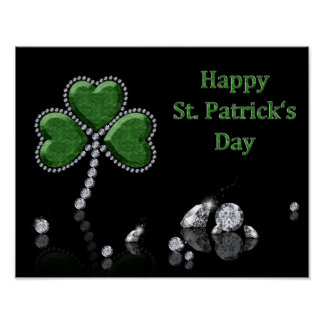 Brilliant St. Patrick's Day - Poster Print