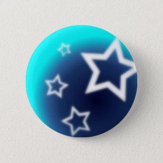 Brilliant Star 6 Cm Round Badge