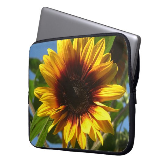 Brilliant Sunflower Laptop Sleeve
