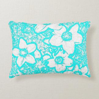 Brilliant Turquoise Toss Cushion Accent Cushion