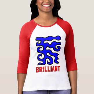 """Brilliant"" Women's 3/4 Sleeve Raglan T-Shirt"