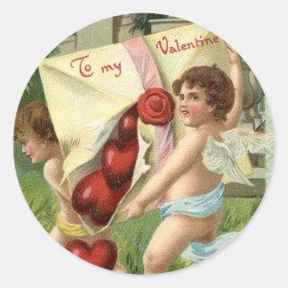 Brimful of Love Classic Round Sticker