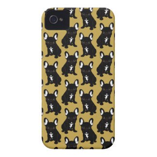 Brindle French Bulldog iPhone 4 Case-Mate Case