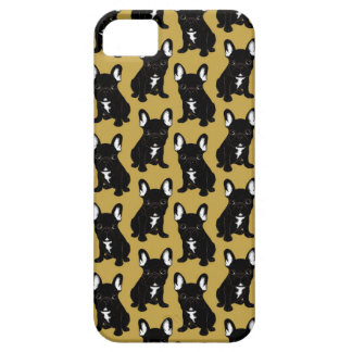 Brindle French Bulldog iPhone 5 Cases