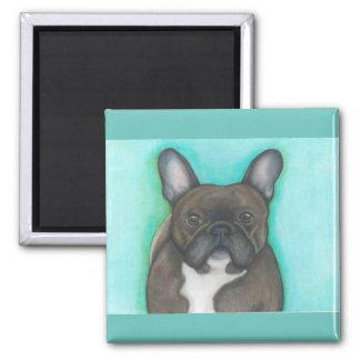 Brindle French Bulldog magnet