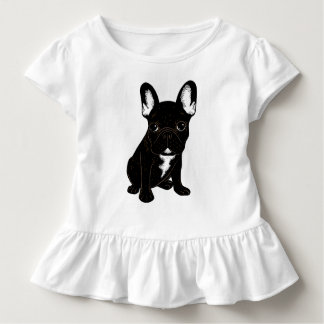 Brindle French Bulldog Toddler T-Shirt