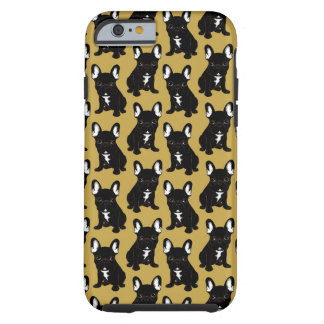 Brindle French Bulldog Tough iPhone 6 Case