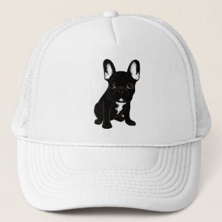 Brindle French Bulldog Trucker Hat