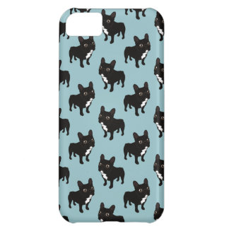Brindle Frenchie likes to go for a walk iPhone 5C Case