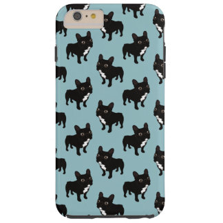 Brindle Frenchie likes to go for a walk Tough iPhone 6 Plus Case