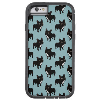 Brindle Frenchie likes to go for a walk Tough Xtreme iPhone 6 Case