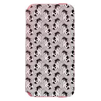 Brindle Pied Frenchie Puppy Incipio Watson™ iPhone 6 Wallet Case