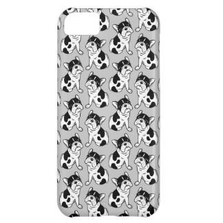 Brindle Pied Frenchie Puppy iPhone 5C Case
