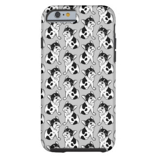 Brindle Pied Frenchie Puppy Tough iPhone 6 Case