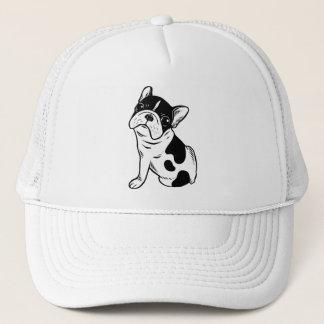Brindle Pied Frenchie Puppy Trucker Hat