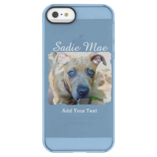 Brindle Pit Bull Puppy by Shirley Taylor Permafrost® iPhone SE/5/5s Case