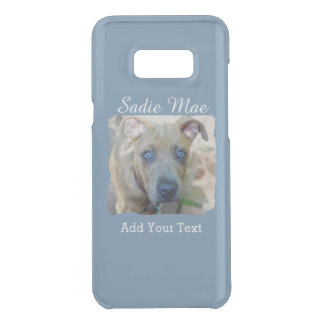 Brindle Pit Bull Puppy by Shirley Taylor Uncommon Samsung Galaxy S8 Plus Case