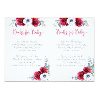 Bring a Book Baby Shower insert card