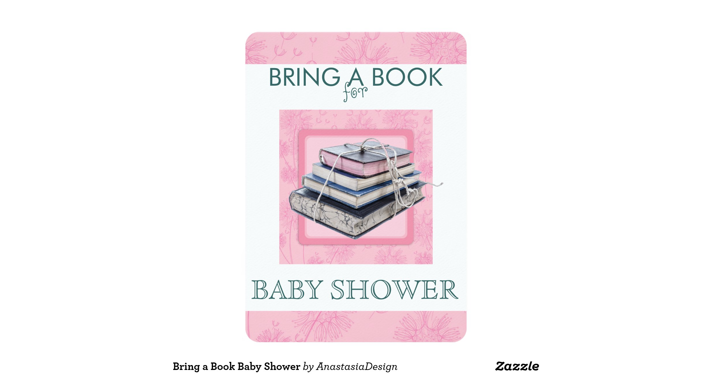 Snap Bring a book library Baby Shower invitations Zazzle photos on ...
