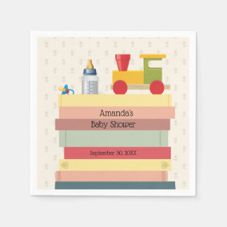 Bring a Book Baby Shower Paper Napkins