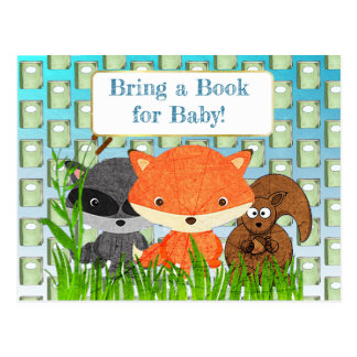 Bring a Book for Baby Baby Shower Card