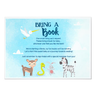 Bring a Book - Zoo- Noah's Ark Card