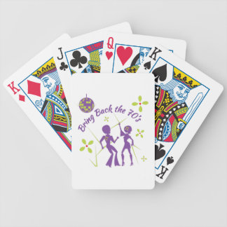 Bring Back 70s Bicycle Playing Cards