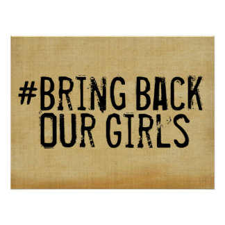 # Bring Back Our Girls Poster