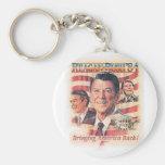 Bring Back Reagan's America Key Chains