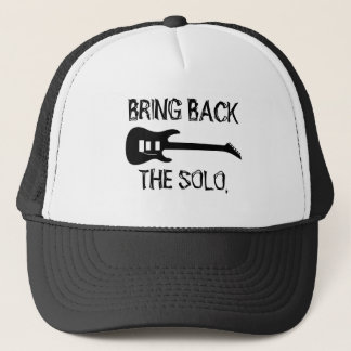 Bring Back The Solo Guitar Music Trucker Hat