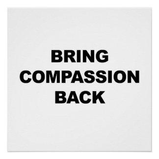 Bring Compassion Back Poster
