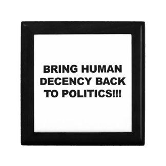 Bring Human Decency Back Gift Box