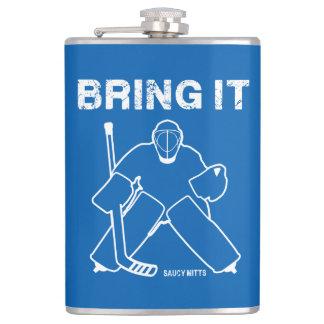 Bring It Hockey Goalie Hip Flask