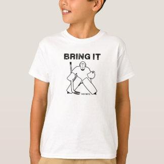 Bring It Hockey Goalie Youth T-Shirt