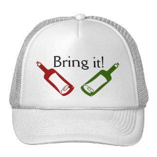 Bring it! Wine Bottles Hat