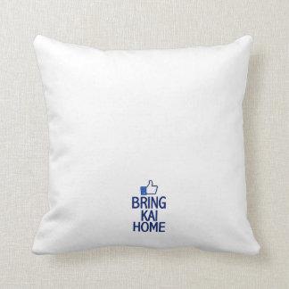 Bring Kai Home Square Pillow Throw Cushions