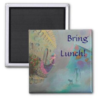 Bring Lunch Reminder Magnet