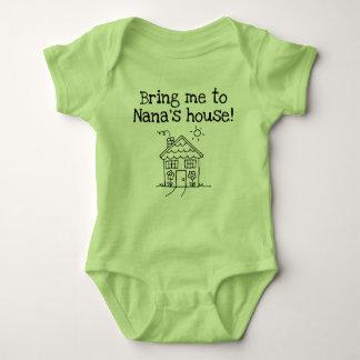 bring me to nana's baby bodysuit