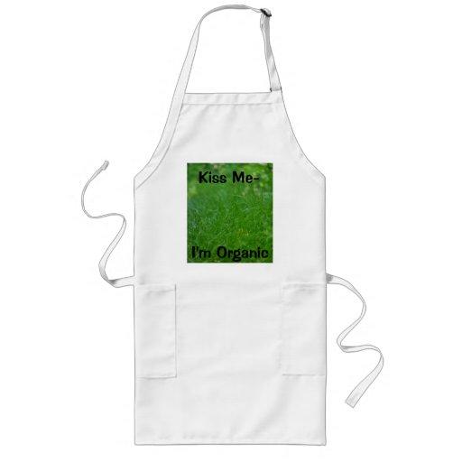 Bring Nature's Green Grasses Aprons