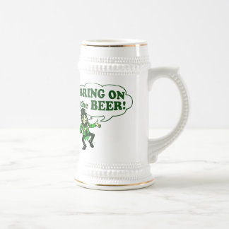 Bring On The Beer Leprechaun Mug