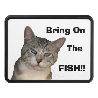 Bring on the Fish Trailer Hitch Cover