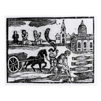Bring Out Your Dead, The Great Plague of 1665 Postcard