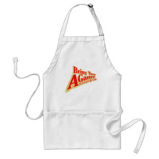 Bring Your A Game Adult Apron