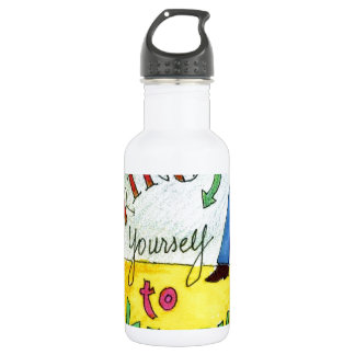 Bring Yourself to Work 532 Ml Water Bottle