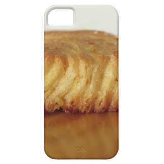 Brioche on a wooden table with granulated sugar iPhone 5 covers